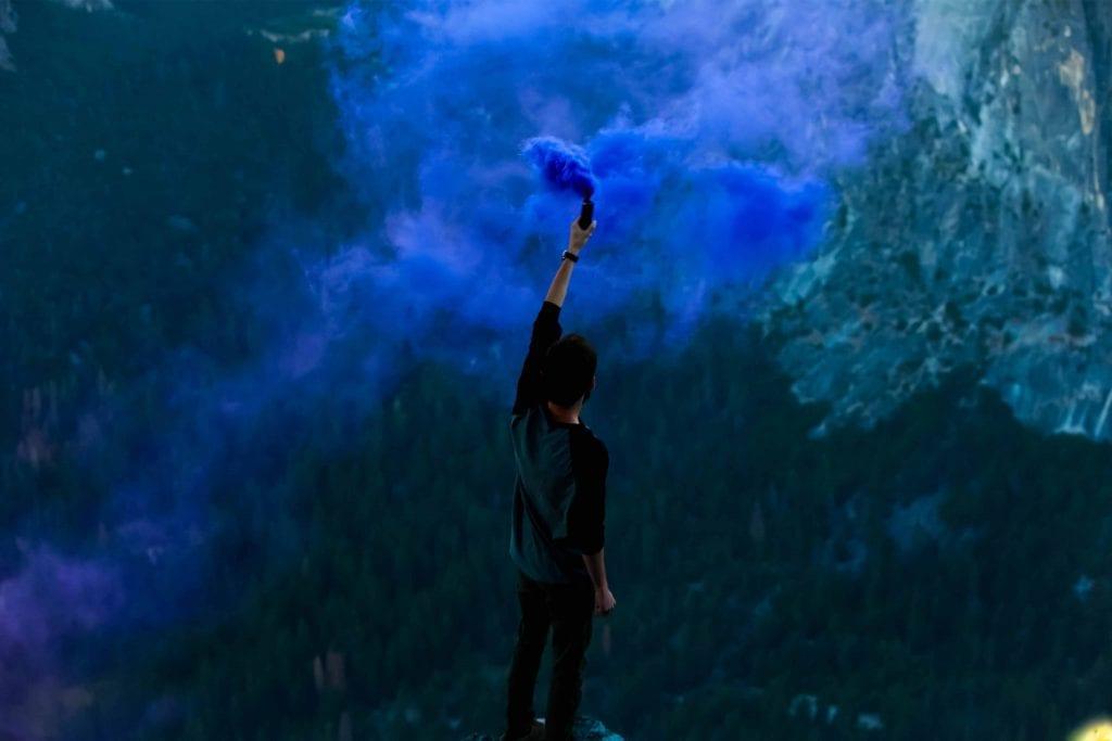 Biblical Fatherhood and a man releasing smoke